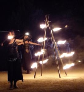 Spectacle de feu Saint Jean Allauch 13 PACA fête provençale