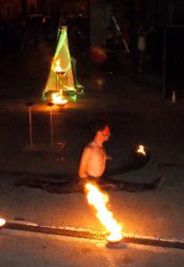 Spectacle de cirque et feu 13 Provence
