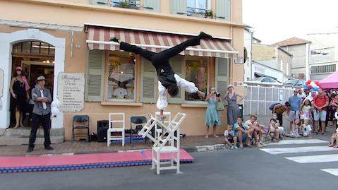 acrobate compagnie de cirque