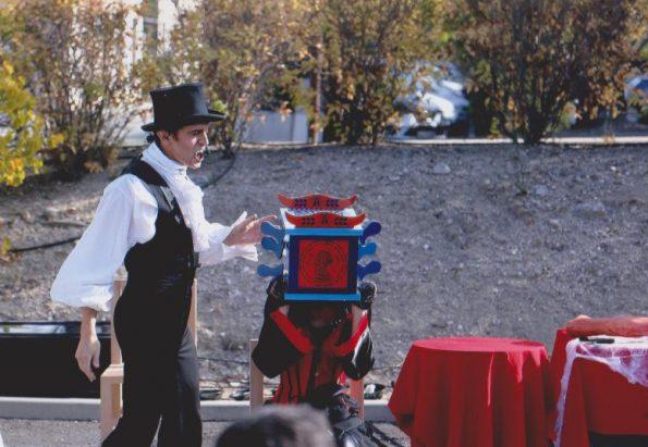 spectacle animation Halloween en PACA à Aix en Provence