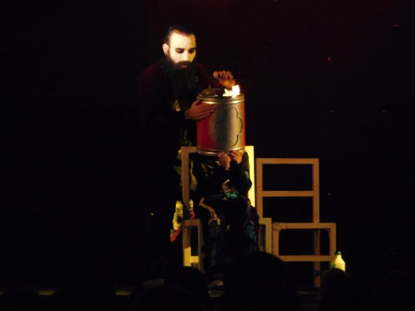 Spectacle Halloween vampire magicien à Sainte-Maxime 83, Var, PACA