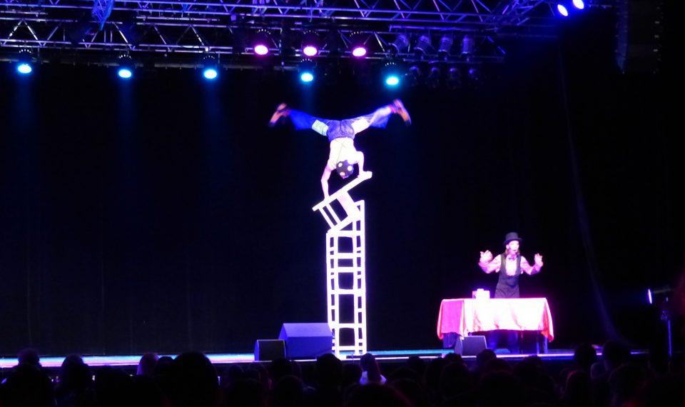 Spectacle cirque enfant