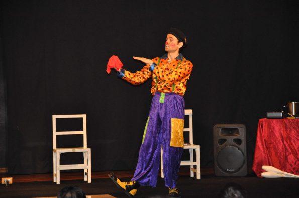 Spectacle pour enfants magie clown