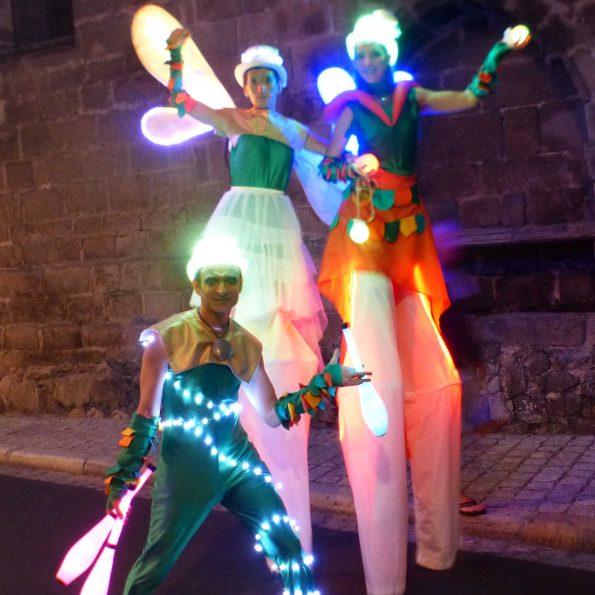 parade carnaval fantasy animation de rue