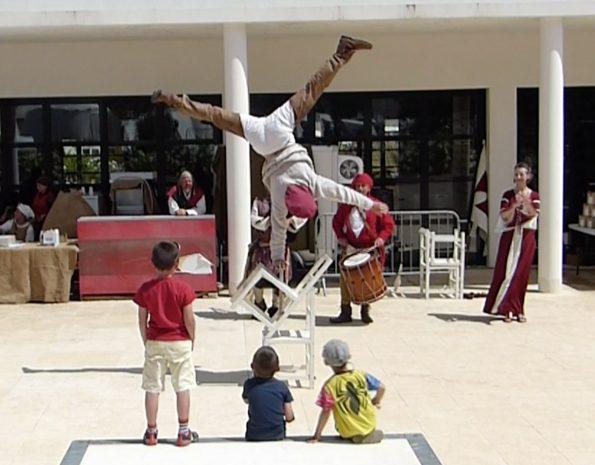 troupe médiévale