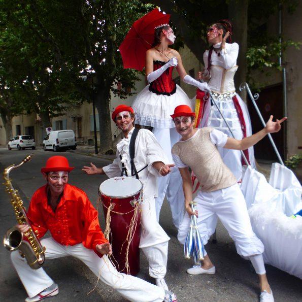 Animation de rue parade carnaval PACA