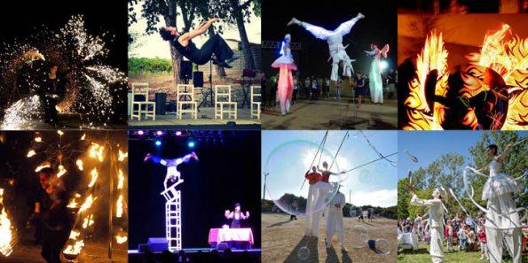 compagnie cirque indigo de spectacle de rue en PACA 13 06 84 83 04