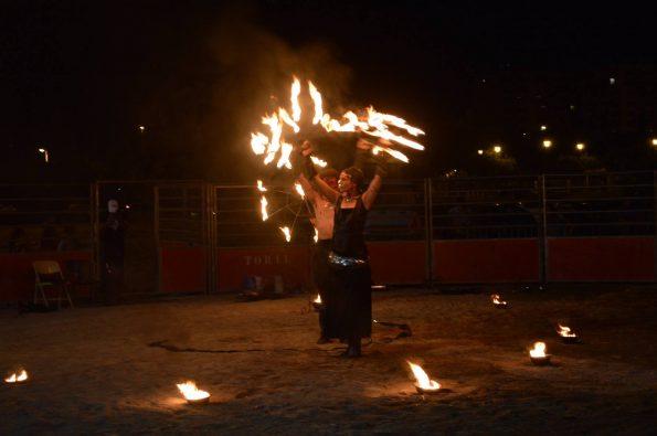 spectacle de feu et lumineux 13