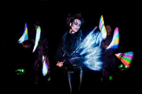 Spectacle lumineux de Cirque Indigo EPHEMERE