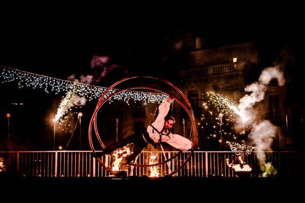 spectacle de feu et pyrotechnie numéro de rue cyr et rue allemande PACA