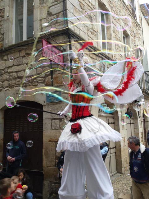 parade échassiers carnaval Venise