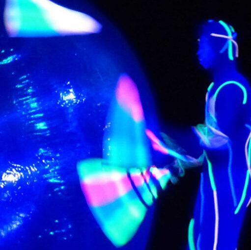 grand cirque lumineux de noel de cirque indigo