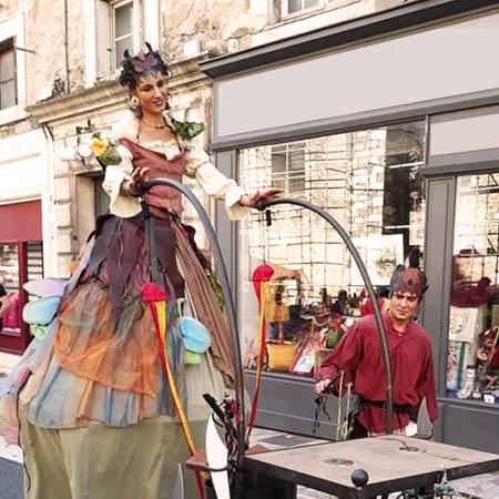 Parade médiévale fantastique cirque-indigo